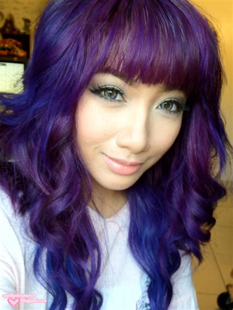 purple hair ninafashionlife purple hair ninafashionlife