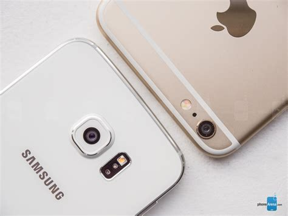 Samsung V Apple Samsung Galaxy S6 Edge Vs Apple Iphone 6 Plus Phonearena