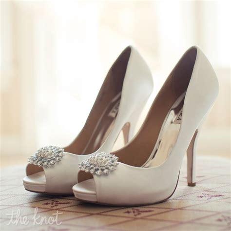 Braut Pumps Ivory by Ivory Peep Toe Pumps Weddings