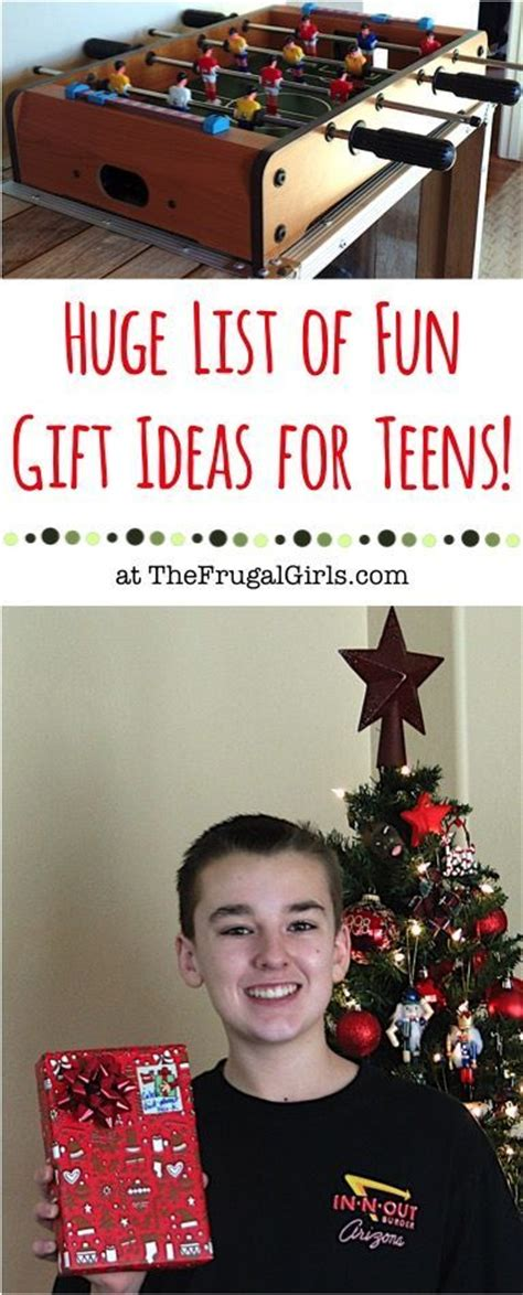big list of fun christmas gift ideas for teens from