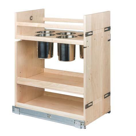 kitchen base cabinet organizers century components cascan115pf kitchen base cabinet pull