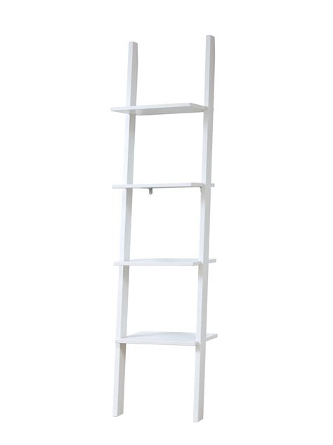 leaning bookcase white leaning bookcase with 4 shelves white for children in s a