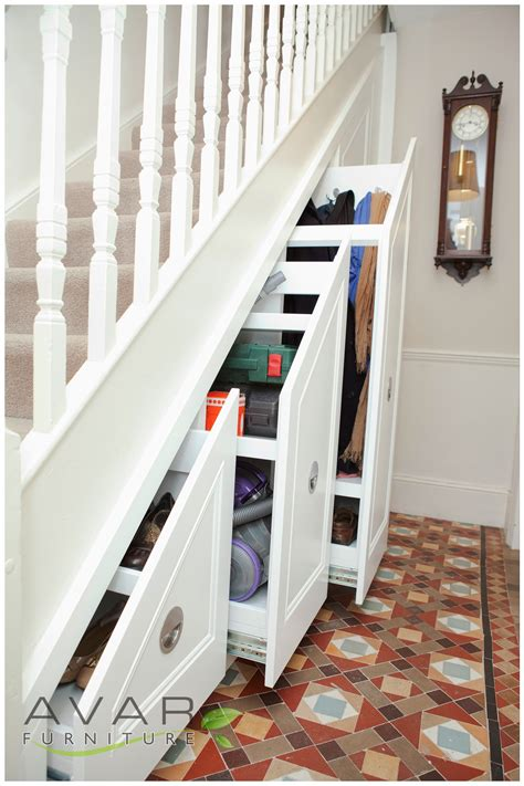 stairs storage ideas gallery  north london uk