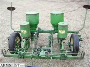 armslist for sale deere 2 row corn planter
