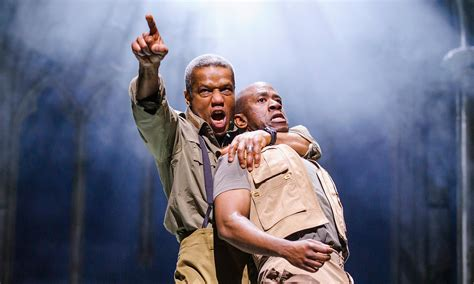 themes in macbeth rsc hugh quarshie as othello and lucien msamati and iago rsc 2015