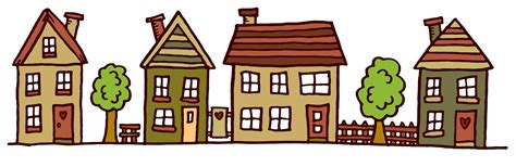 images of homes images of houses in a row clipart best