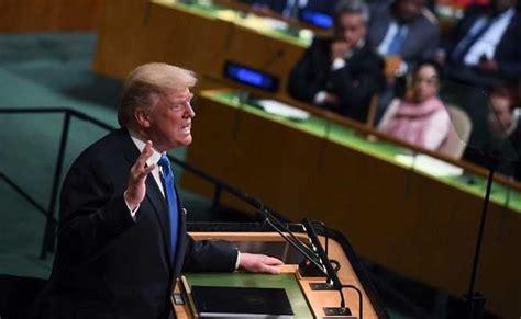 donald trump rocket man donald trump s first speech at united nations threatens