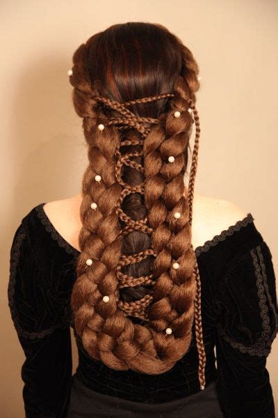 how to do medieval hairstyles medieval hairstyles places to visit pinterest