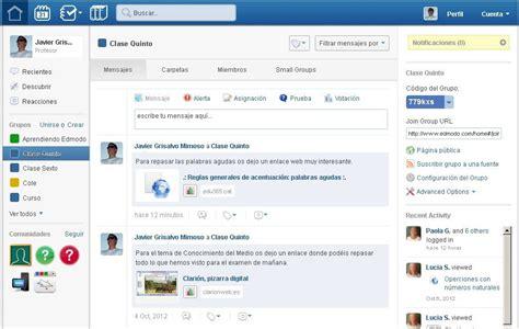 edmodo là gì en marcha con las tic edmodo la red social educativa