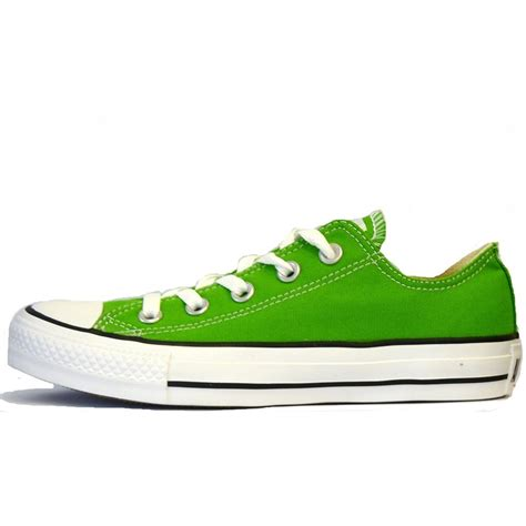 green converse sneakers converse ss12 mens green oxford low pumps