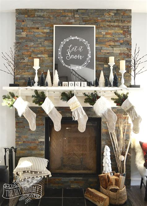 christmas mantel decorating tricks video the diy mommy
