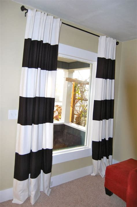 black and white curtains walmart 25 best ideas about horizontal striped curtains on