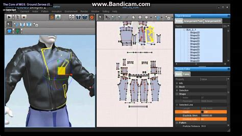 jacket design program metal gear solid v at gdc 2013 fox engine with marvelous