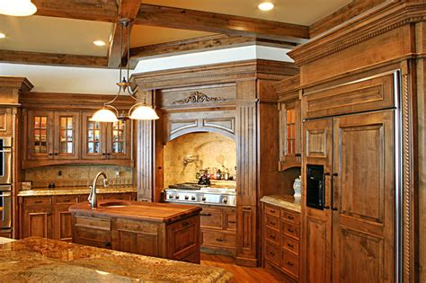 the woodworks inc island kitchen traditional kitchen