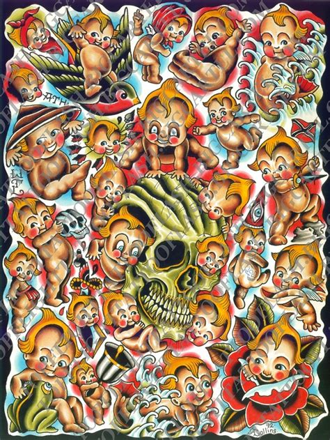 kewpie flash 8 best images about my paintings and prints etc on