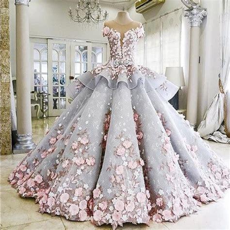 Dress Purple White dress amazing flowers prom dress prom dress