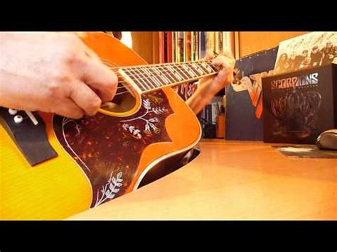 house of cards chords scorpions quot house of cards quot cover guitar parts with chords youtube