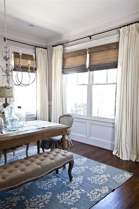 drapes for dining room 25 best ideas about dining room curtains on pinterest