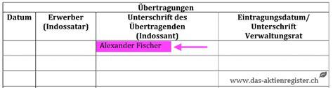 Muster Aktienbuch Schweiz aktienzertifikat in 6 schritten erstellen www das