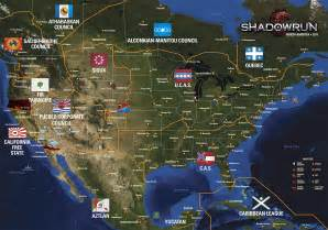 Shadowrun Seattle Map by All Shadowrun Maps Custom Google Maps Images Let