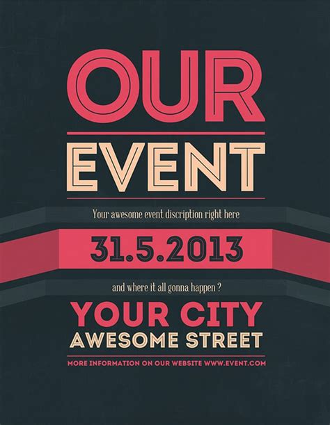 event flyer layout ideas 19 best event flyer inspo images on pinterest poster
