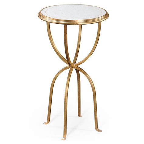 accent tables round cora round accent table luxe home company