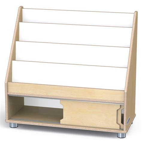 modern book rack designs jonti craft 1728jc truemodern book rack
