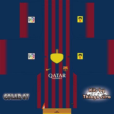 Barcelona Home 13 14 kit barcelona 13 14 fifa 13 by thiagohenriquesilva on deviantart