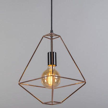 lampara colgante frame  cobre el toque de midas oro