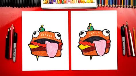 draw  fortnite durr burger art  kids hub