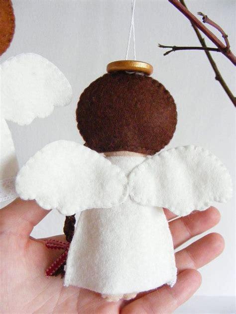 angelitos fieltro adorno navidad curso de organizacion