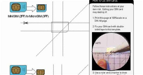 cutting your sim card template how to cut your own nano sim card for your iphone 5