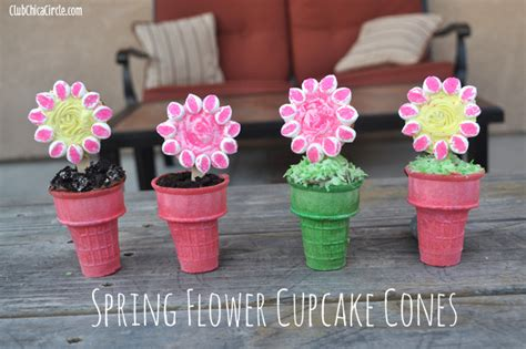 Cone Glass Vase Spring And Easter Craft Ideas
