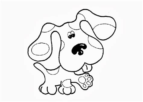 coloring pictures of dog paws blues clues paw print coloring page www pixshark com