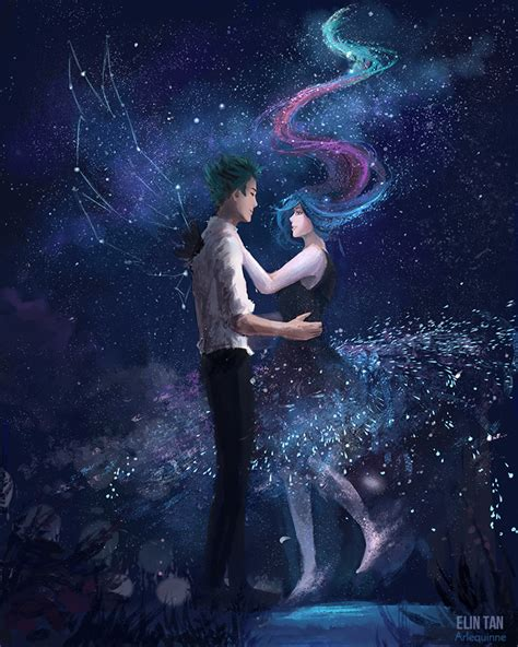 anime themes galaxy y she was the galaxy by elintan on deviantart