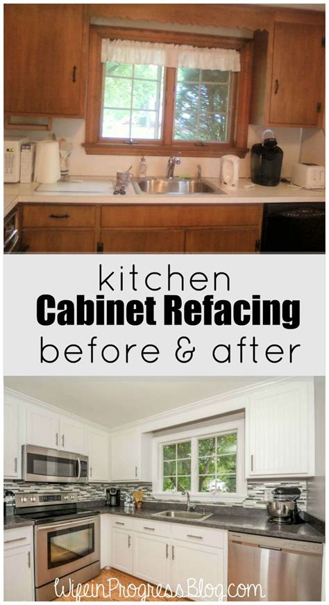 Kitchen Cabinet Door Refacing 17 Best Ideas About Cabinets On Pinterest Updating Cabinets Cabinet Door Makeover And