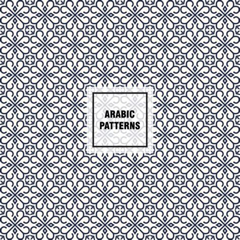 arabic pattern ai arabic pattern design vector free download