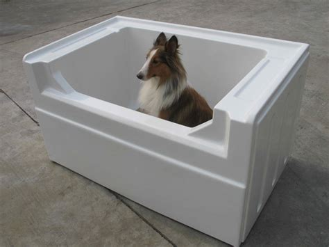 dog showers bathtubs dog pet grooming bath tub dog breeds picture