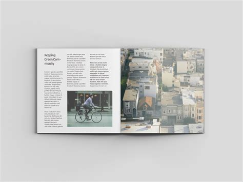 viewpoint design magazine square magazine mockup