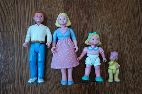 hello kelcey vintage toys fisher price loving family dolls