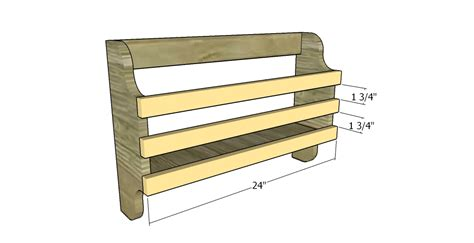 Magazine Rack Plans by Magazine Rack Plans Free Outdoor Plans Diy Shed