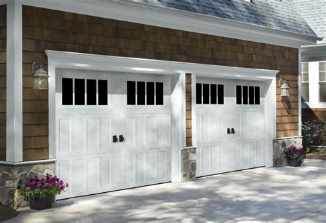 timeless carriage style garage doors enhancing high white carriage garage doors carriage creek style 5 white