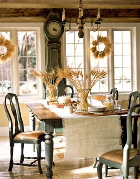 vintage shabby chic home decor 24 vintage and shabby chic thanksgiving d 233 cor ideas digsdigs