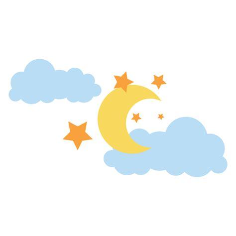 imagenes en png infantiles marcos y bordes de lunas y estrellas imagui