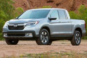2016 Honda Ridgeline 2017 Honda Ridgeline Tops Out At 19 26 Mpg Motor Trend