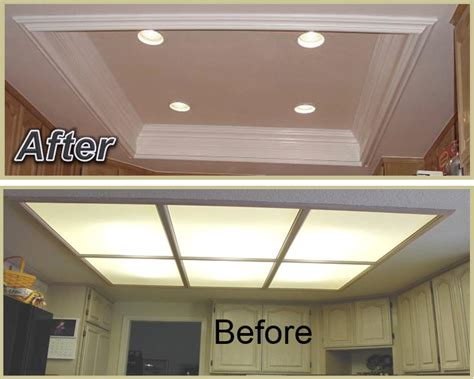 Kitchen Coffered Ceiling Appleton Renovations Recessed Lighting For Kitchen Ceiling