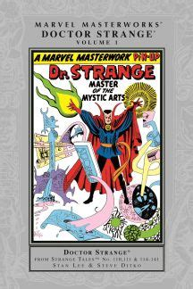 The Strange Library Ushardback marvel masterworks doctor strange vol 1 hardcover comic books comics marvel