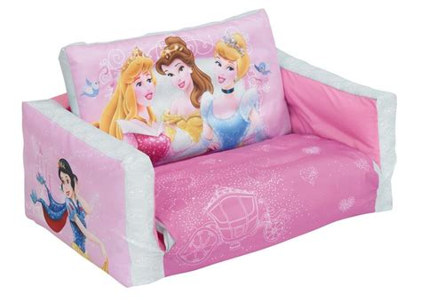 disney princess couch bed disney princess flip out sofa sofa bed ready room ebay