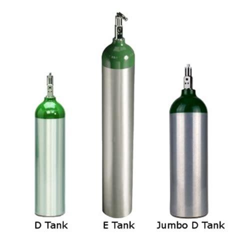 Jumbo D portable aluminum oxygen tanks sizes d jumbo d and e