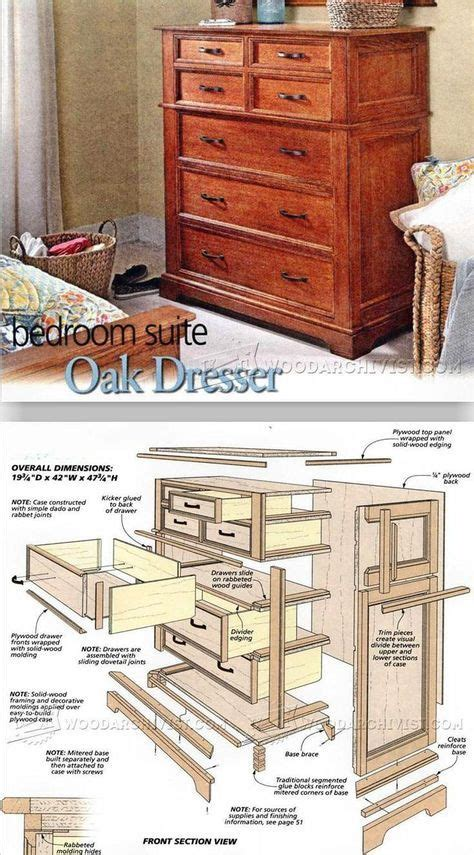 libro upholstery techniques and projects oak dresser plans furniture plans and projects woodarchivist com woodworking